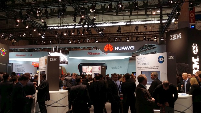 Huawei en el Mobile World Congress 2014